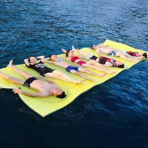 Floating Water Mat Float Pad Island Raft Ocean Pool Lake Swimming Accessories