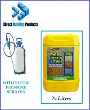 Path & Patio Seal and Sealer - 25 Litre Everbuild 405 & 5litre Pressure Sprayer