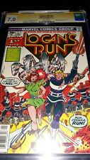 Signed Logan's Run #1 CGC SS 7.0 by Gerry Conway - Movie Adaptation par 1 of 5