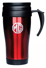 Genuine MG Motor Branded Red Thermos Style Travel Mug - 10248457
