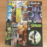 Mixed Comic Book Bundle - 10x Comics - DC Spawn Legion Wildcats & More...