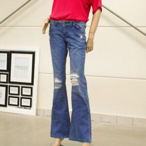 CONLEYS BLUE mit ausgestellten Bein Schlagjeans Jeans Gr. 26