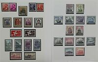 Spain 1954/65 strong collection of complete sets and singles to include a Stamps