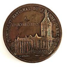 MÉDAILLE MONUMENT NATIONAL DE JEANNE D'ARC    (S1518)