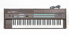 Yamaha DX7 Digital Programmable Algorithm Synthesizer 61-Key Keyboard w/ Manuals