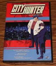 City Hunter: The Motion Picture (DVD, 2002) Action ADV Films R1 DVD New