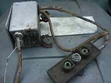Vintage Aircraft battery relay box and battery connector PT-19 stearman ratrod