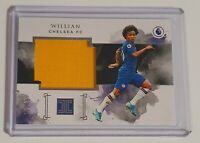 WILLIAN JUMBO PATCH MATERIAL PLAYER WORN /49 - PANINI IMPECCABLE 2019/20 CHELSEA