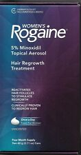Women's Rogaine, Hair Regrowth Treatment, 3 boxes, 12-month supply, foam, new