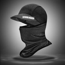 Outdoor Tactical Balaclava Full Face Cover with Brim Hat Neck Scarf Hunting Cap