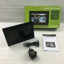 "LOGIK 7"" Digital Picture Photo Frame, Boxed, Tested Working with desk stand"