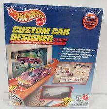 Hot Wheels Custom Car Designer With VW Drag Bus & CD-Rom Sealed S146