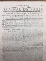 Constitution 1791 Loi Constitutionnelle Péthion Louis 16 Convention Nationale