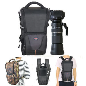 DSLR + Telephoto Lens Backpack Camera Bag Sigma/ Tamron 150-600mm Sony 200-600mm