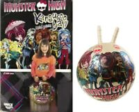 Monster High Kids Bouncy jumping Space Hooper Ball Inflatable Outdoor Toy Gift