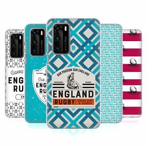 OFFICIAL ENGLAND RUGBY UNION HERITAGE HARD BACK CASE FOR HUAWEI PHONES 1