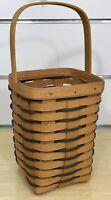 Longaberger Heartland Large Peg Basket 1996