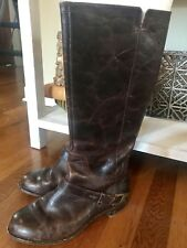 Ugg Brown Leather Riding Boots Size 7