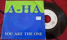 "A-HA **You Are The One** VERY RARE Spain 7"" PROMO Single *** 1988 *DISCOS CBS*"