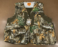 Field & Stream Men's Size 2XL Real Tree Edge Camouflage Front Loader Vest NWT
