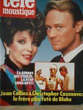 JOAN COLLINS DYNASTIE ROMY SCHNEIDER MADONNA DURAN DURAN MAGAZINE BELGIQUE 1986