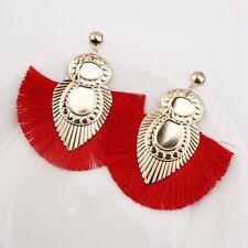 Women 2018 Bohemian Earrings Long Tassel Fringe Boho Dangle Earring Jewelry Hook
