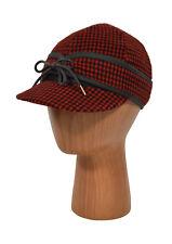 Ralph Lauren RRL Vintage Red Wool Hunting Baseball Hat Cap S New