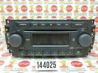 05 06 07 DODGE DAKOTA AM/FM RADIO CD PLAYER W/ AUX IN 05064173AE REF OEM