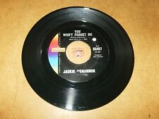 JACKIE DESHANNON - YOU WON'T FORGET ME - I DON'T  / LISTEN -TEEN GIRL POPCORN