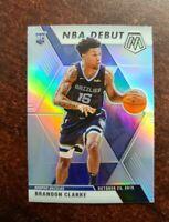 Brandon Clarke 2019-20 Mosaic NBA Debut RC Silver Prizm #277 Grizzlies Rookie