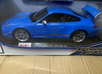 Maisto Collectible Porsche 911 GT3 RS 4.0 SPECIAL EDITION 1:18 DIECAST - 3+ NEW