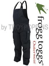 FROGG TOGGS RAIN GEAR-NTHD9319-01 MENS BLACK BIBS TOADZ TOADSKINZ FISHING WEAR