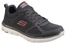 Skechers Morbide Vantaggio 2.0 Scarpe ginnastica con Lacci Sport Allenamento Uk10 - Eu45 Antracite/rosso