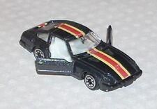 Vintage 1980's Datsun 260Z 280Z Black Made in Hong Kong Diecast Car