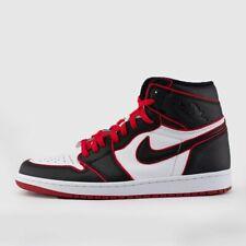 Nike Air Jordan Retro I 1 HIGH OG Bloodline Black Gym Red 555088-062 Men&GS 4-15