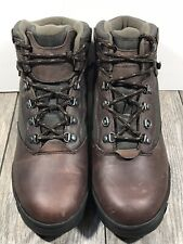 Mens Boots G.H Bass & Co Outdoor Brown Leather Boots Size 11