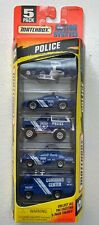 1996 Matchbox Action System Police 5 Pack police NIB