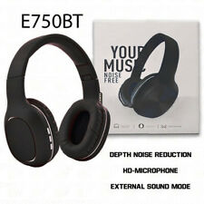 Wireless Bluetooth Stereo Headphones Headsets Noise Isolation High Bass & Mic