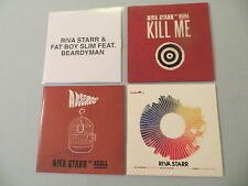 RIVA STARR job lot of 4 promo CD singles The Care Song EP Get Naked (Mixes)