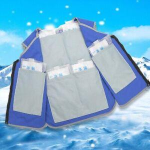 Summer Cooling Vest Ice Pack Vest Personal Cooling Cold Vest Reduce temperature