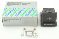 【MINT IN BOX】 Mamiya Waist Level Finder for M645 1000S From JAPAN #560