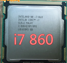 CPU PROCESSORE INTEL QUAD CORE i7-860 2,80GHz 8MB cache LGA 1156 SLBJJ