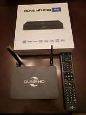 DUNE HD Pro 4K Media Streamer HDR Atmos DTS-X Android Smart TV wifi F/S N/R
