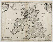 TAVERNIER, M. (1642) Carte Generale des Royaume d'Angleterre Escosse et Irlande