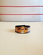 Custom NWA World Championship Title Belt 10 Pounds Of Gold For WWE Mattel Figure