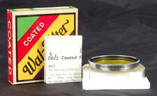 NEW IN BOX 39mm WALZ SCREW ON YELLOW LENS FILTER FOR LEICA SUMMICRON F/2 CASE