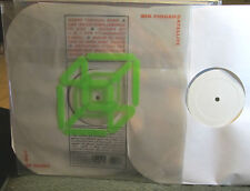 Six Finger Satellite  2 LP '98 LAW OF RUINS clear wax sub pop synth punk rare !!