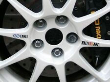 EVO 6 TME Ralliart & Enkei Wheel decals