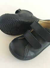 Falcotto 609 baby first walker US 3 Euro 19 navy leather flexible rubber sole