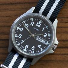 Mondaine Military/Field Watch - Titanium, Day Date, 1990s, Quartz, 38mm, Swiss